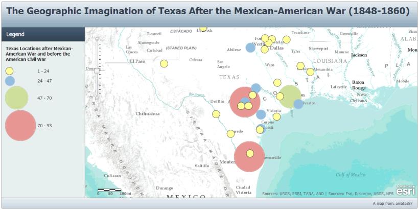 Texas in literature - Pre Civil War