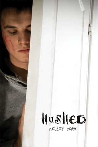 "Book cover for Kelley York's ""Hushed"""