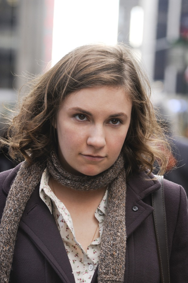 "Hannah Horvath, the protagonist of ""Girls,"" played by Lena Dunham."