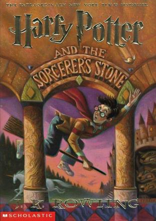 Front Cover of Harry Potter and the Sorcerer's Stone