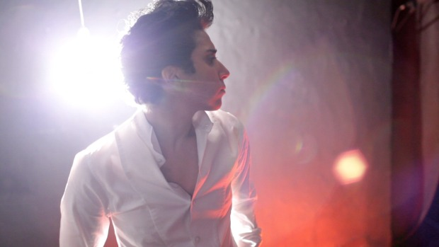 Picture of Jo Calderone, Lady Gaga's male alter ego. Calderone represents the common place of gender performativity within contemporary society.