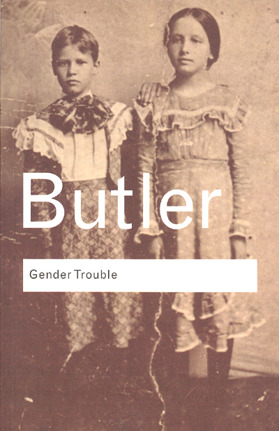 Front cover of Judith Butler's Gender Trouble