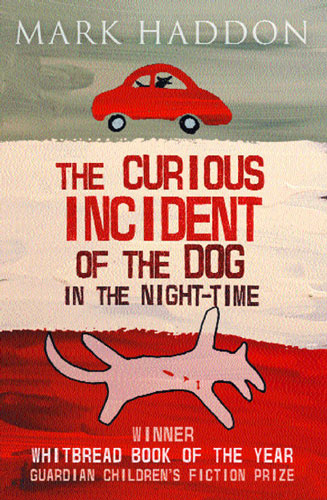 Front cover of Mark Haddon's The Curious Incident of the Dog in the Night-Time