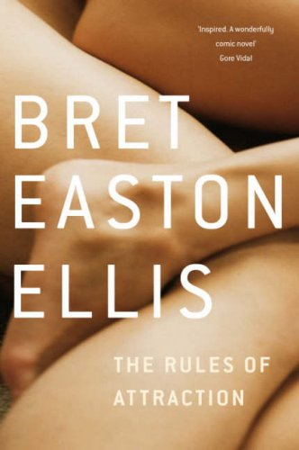 Front cover of Bret Easton Ellis' The Rules of Attraction (1987)