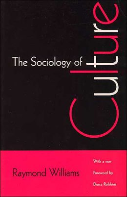 Front cover of The Sociology of Culture (1982)
