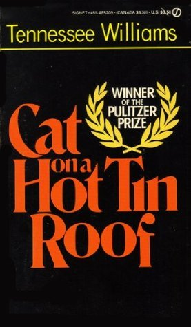 Front cover of Tennessee Williams' [Cat on a Hot Tin Roof] (1955)