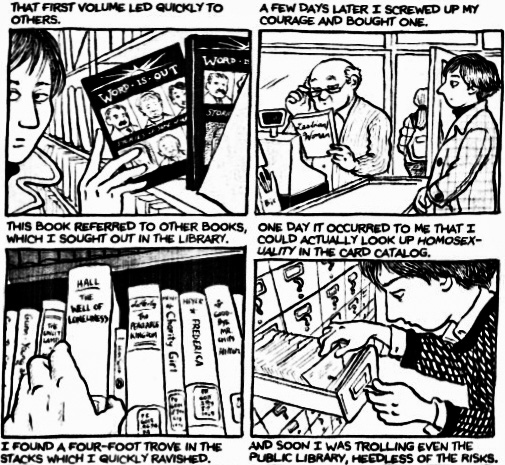 The Role of Gender and Literature in Alison Bechdel's [Fun