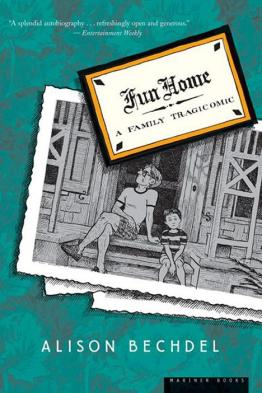 Front cover of Alison's Bechdel's Fun Home (2007 paperback version)