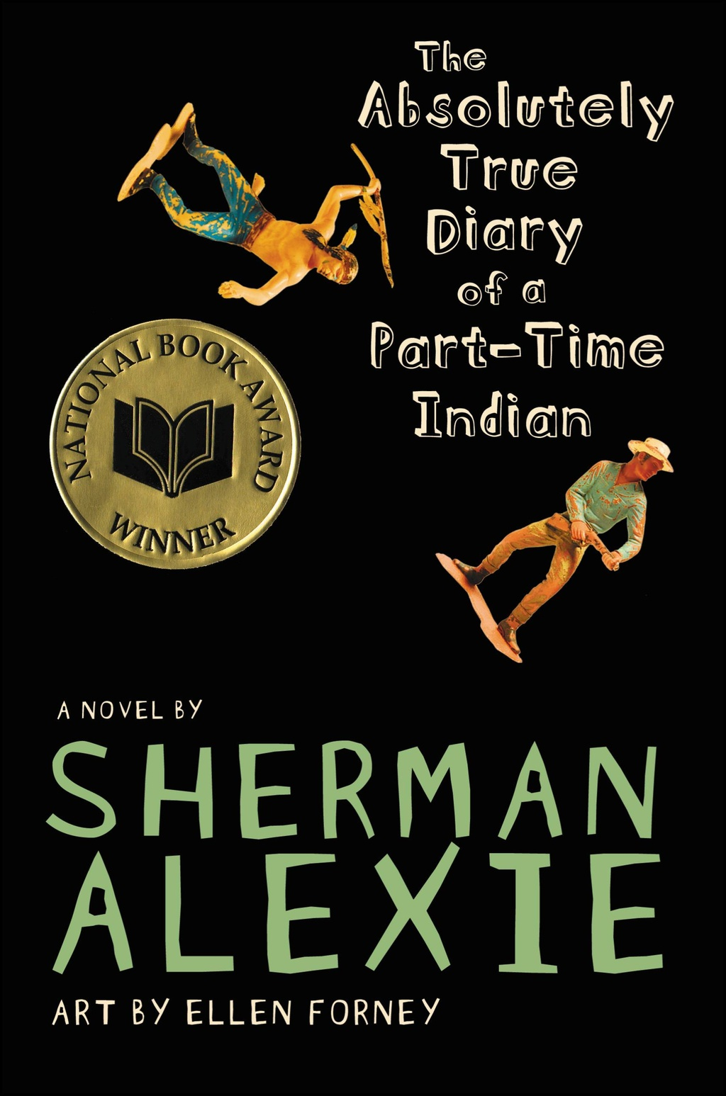 tradition change and kinship in sherman alexie s the absolutely front cover of sherman alexie s the absolutely true diary of a part time n
