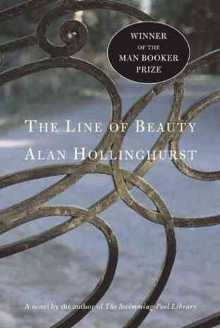 Front cover of Alan Hollinghurst's The Line of Beauty (2004)